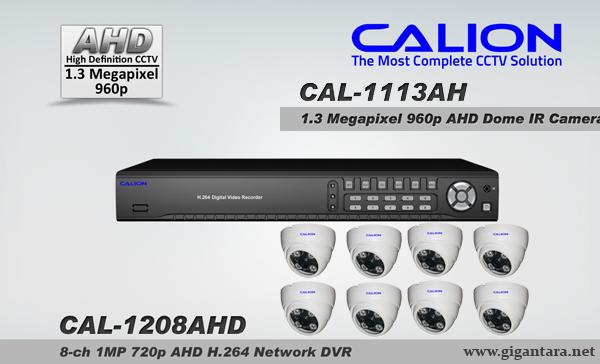 Paket analog 8 Camera AHD