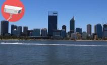 Agar Tertib, Jalur Perairan di Kota Perth Dipasangi Kamera CCTV